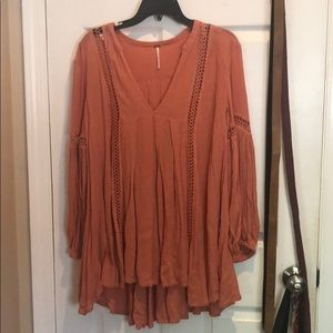 Free people tunic long sleeve